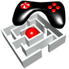 3D game controller, maze puzzle and ball