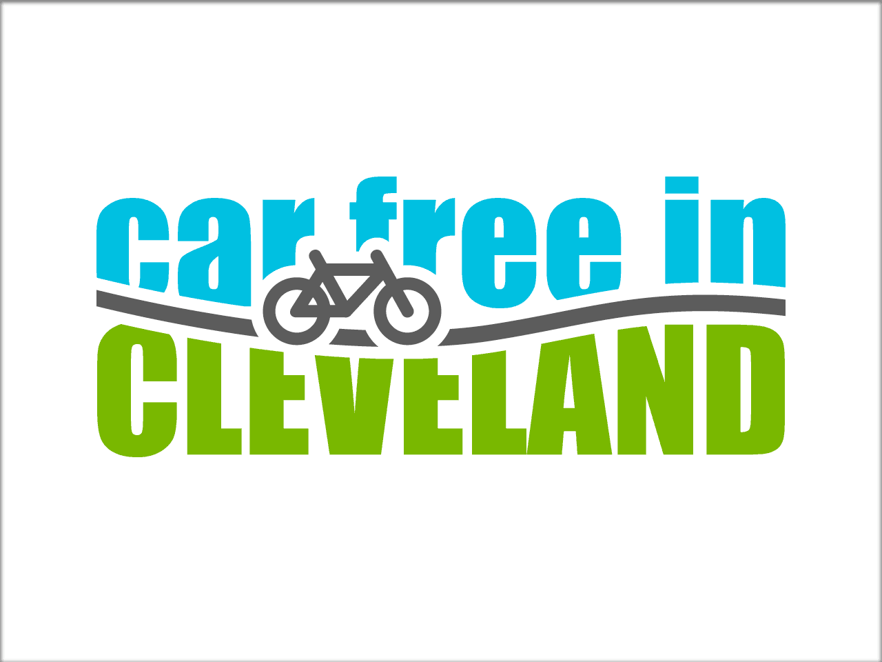 Car Free in Cleveland logo