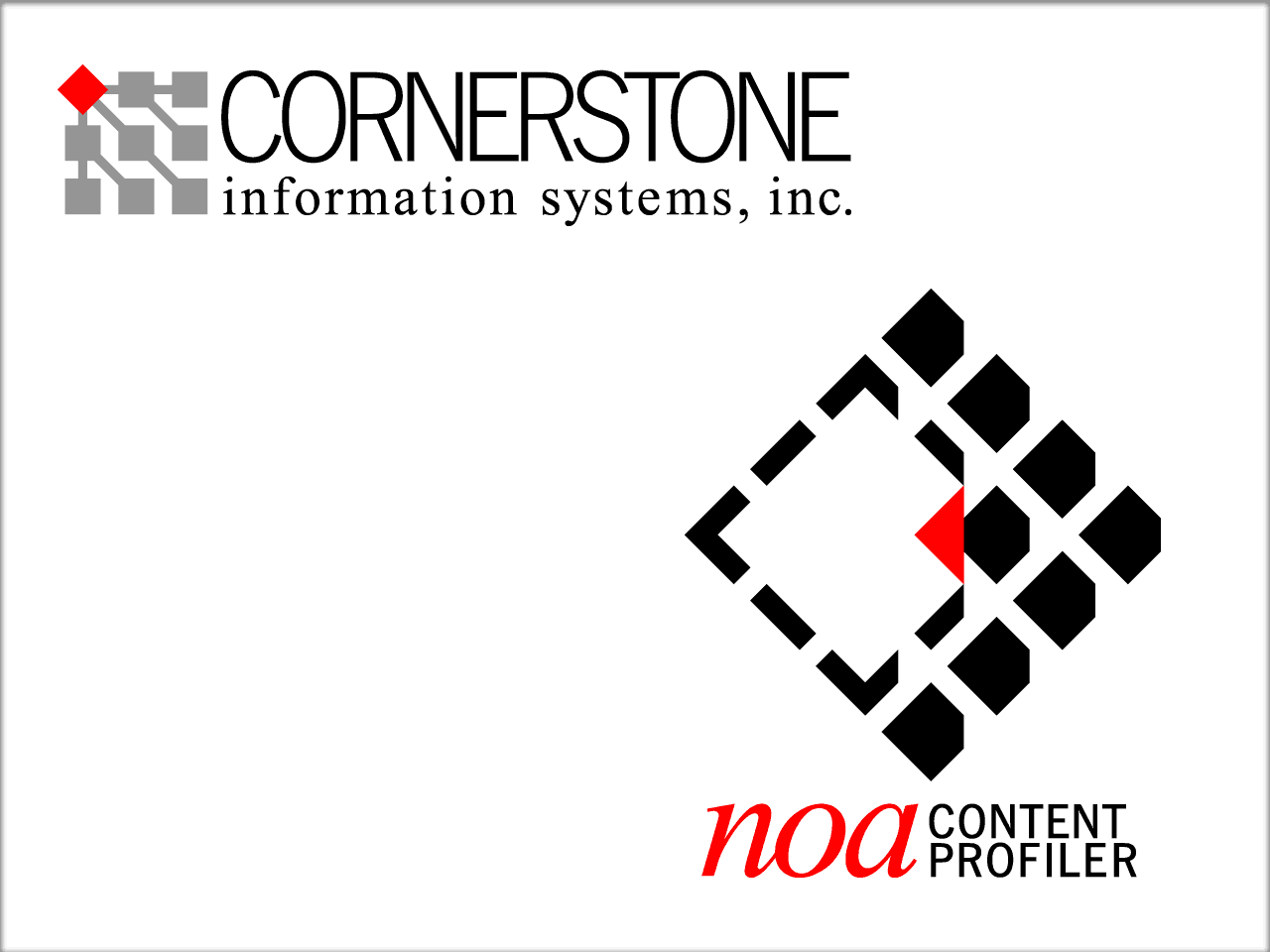 Cornerstone and NOA logos